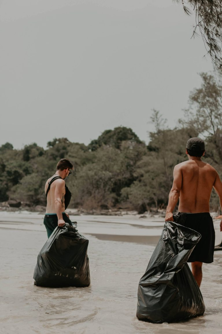 help us clean up the ocean