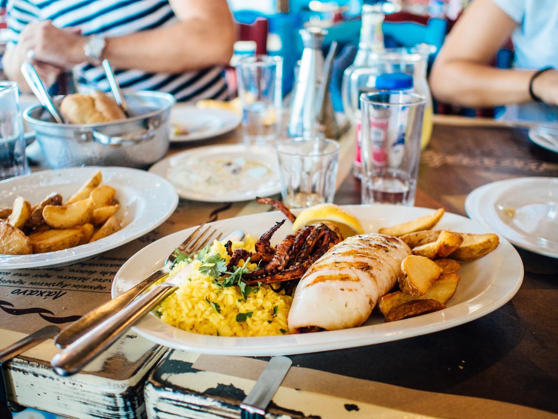 139 food plate restaurant eating