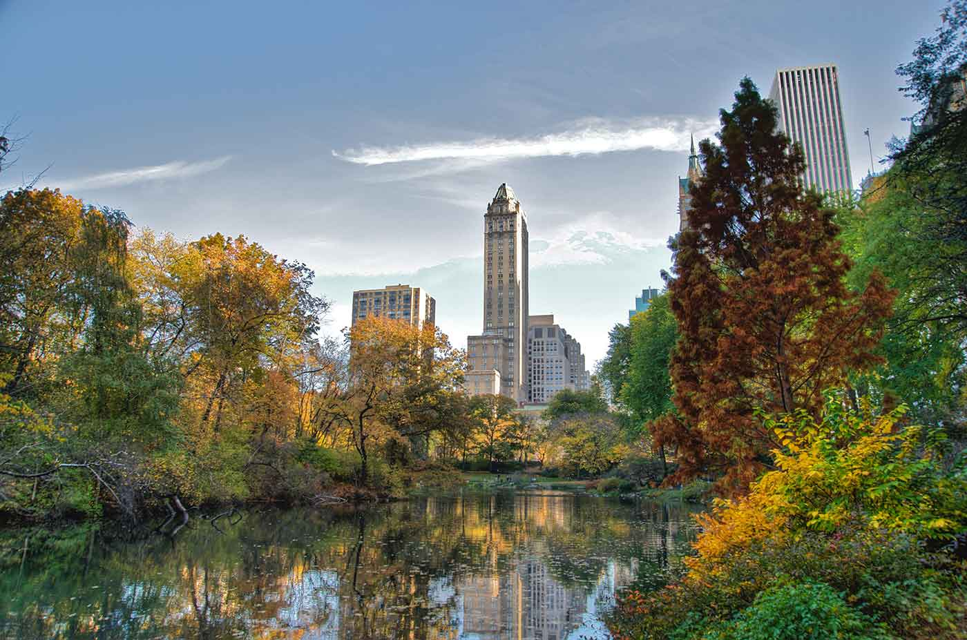 152 Southwest corner of Central Park looking east NYC